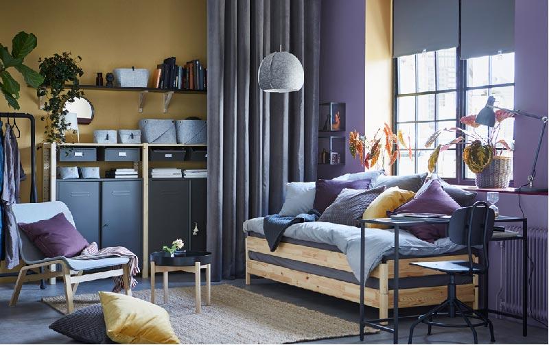 stanza degli ospiti - catalogo IKEA 2018