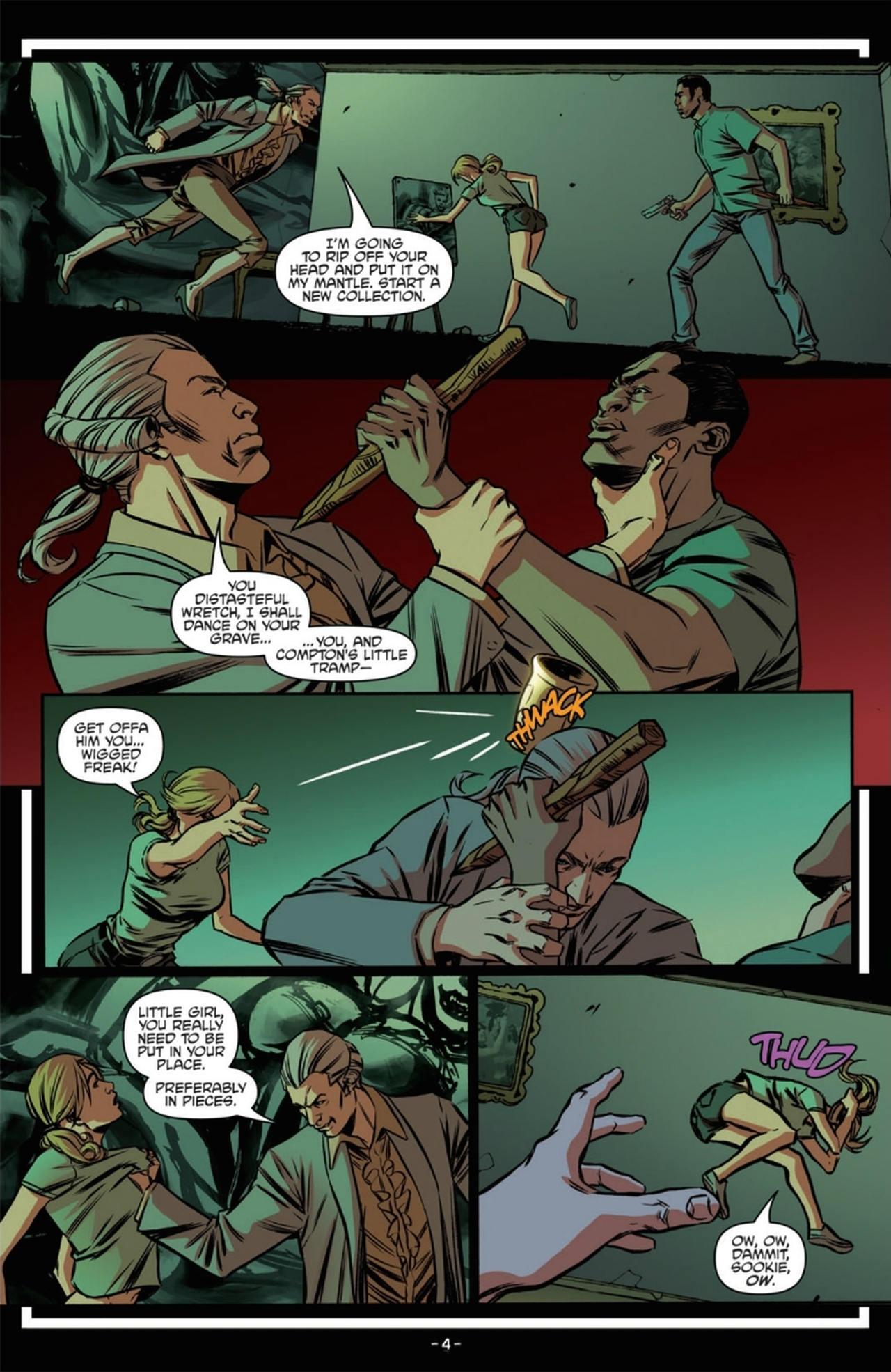 Read online True Blood: French Quarter comic -  Issue #6 - 9