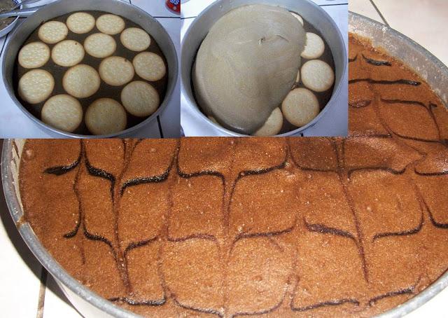 Cara Membuat Kek Batik