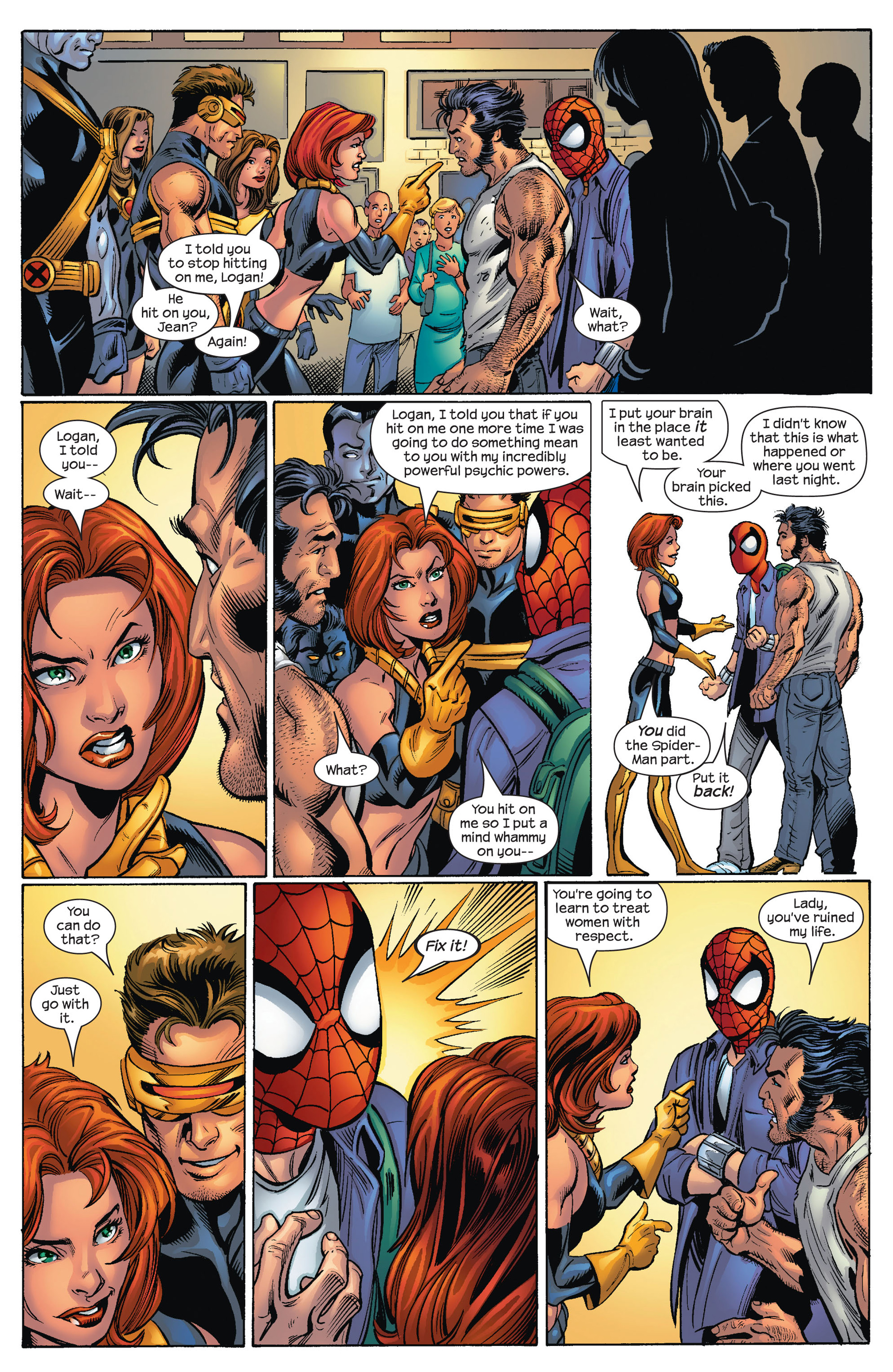 Read online Ultimate Spider-Man (2000) comic -  Issue #67 - 20