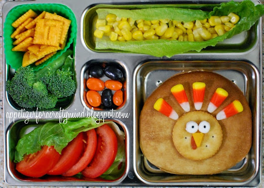 Thanksgiving Themed School Lunches