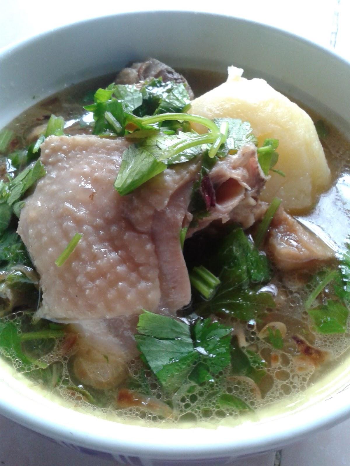 Nailys Kitchen Sup Ayam Kampung