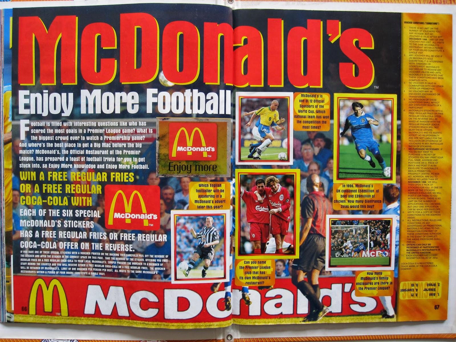 Only Good Stickers: Merlin's Premier League 98