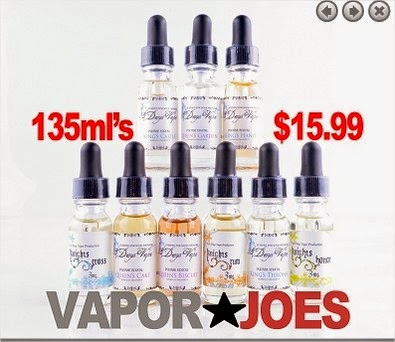 http://www.28daysvape.com/Vapor-Joe-15ml-Variety-Pack-Deal-135ml-Total-One-pack-per-person_p_171.html