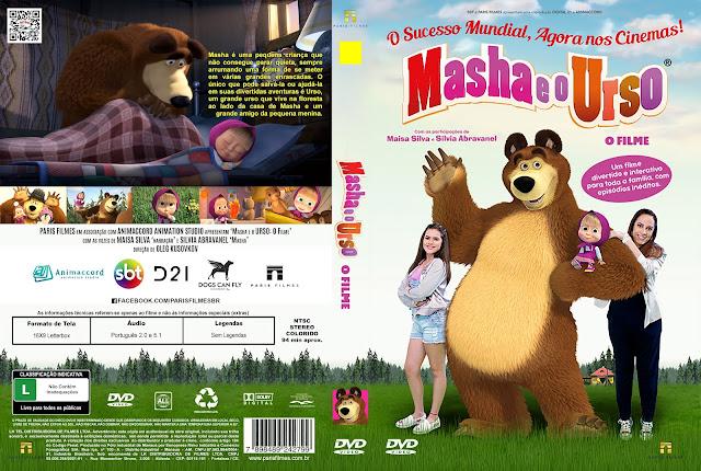 Capa DVD Masha E O Urso O Filme [Exclusiva]