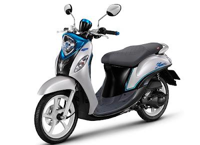 Yamaha merk Fino dengan 125 Blue Core