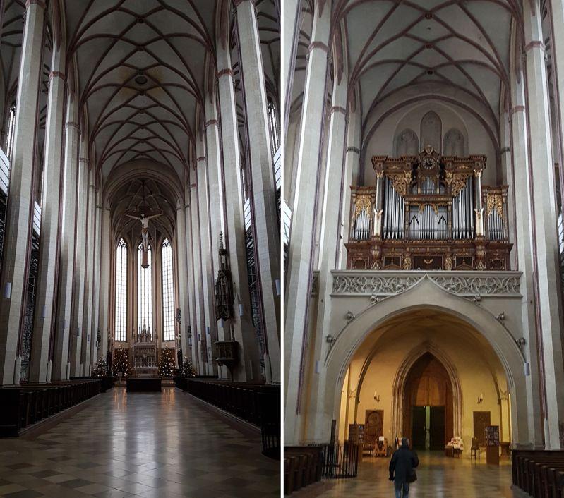 Martinskirche Landshut im spätgotischen Baustil errichtet