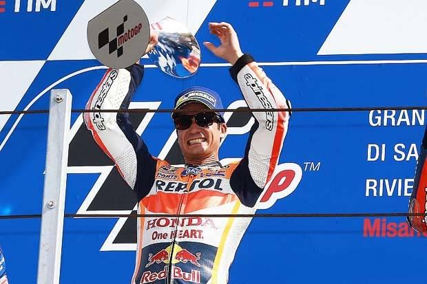 GP San Marino Pedrosa Juara! Rossi Harus Puas Posisi Kedua