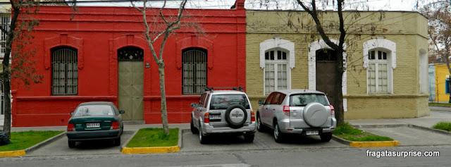 Casas típicas do Bairro Itália, Santiago