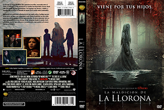 The Curse of La Llorona - La maldición de la llorona - Cover