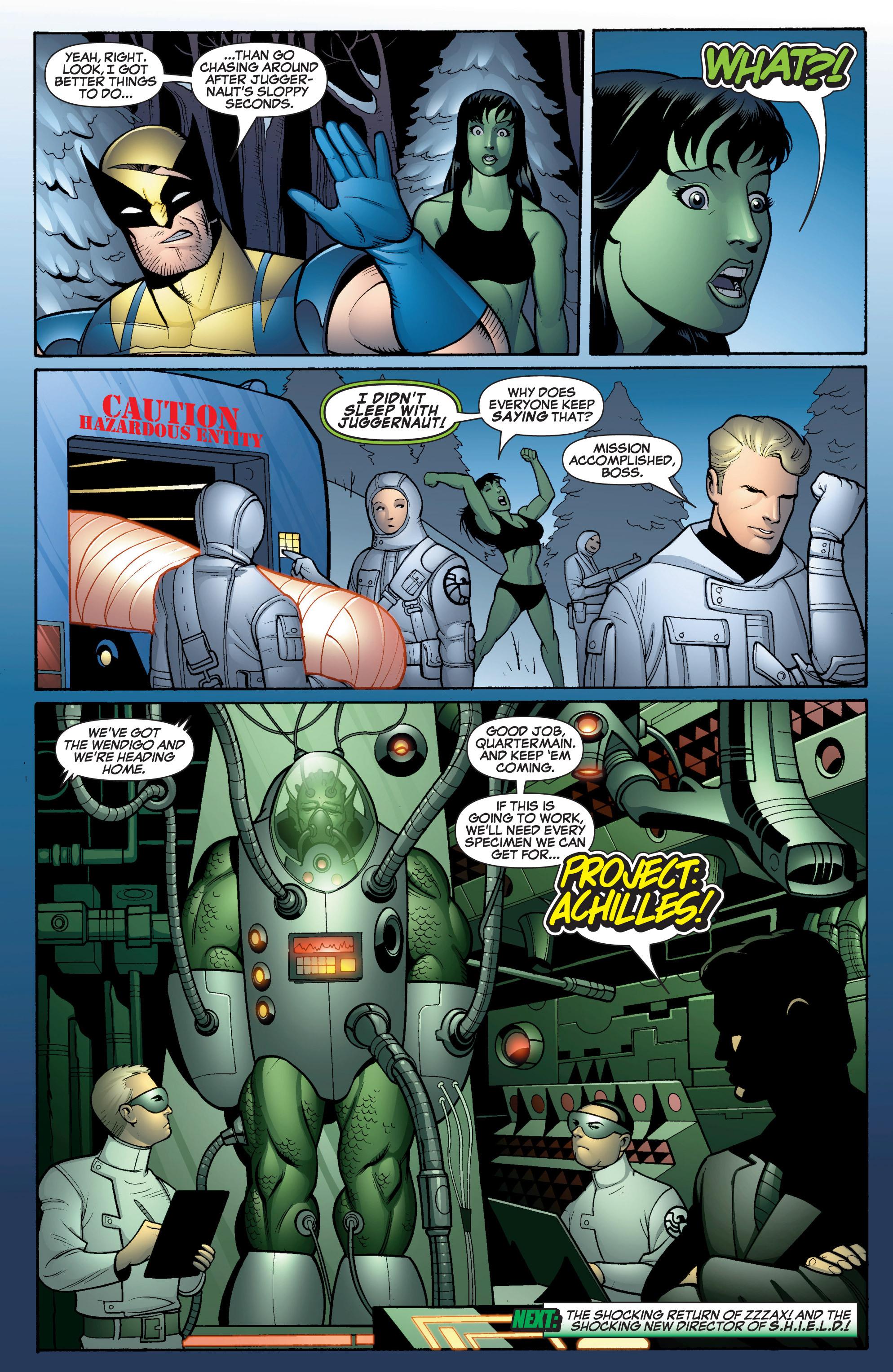 Read online She-Hulk (2005) comic -  Issue #16 - 23