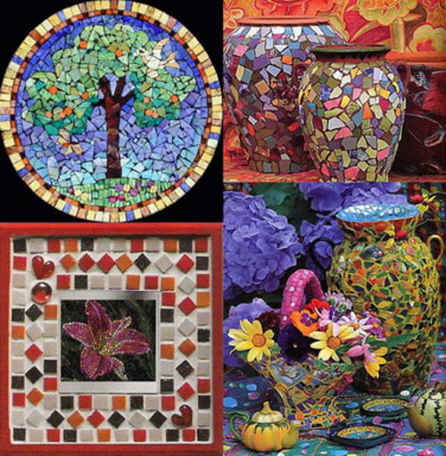 mosaic art ideas art craft gift ideas