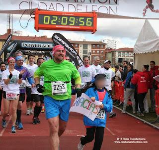 5 Media Maraton Leon 2013