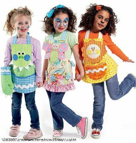 фартуки для детей.  Aprons for children