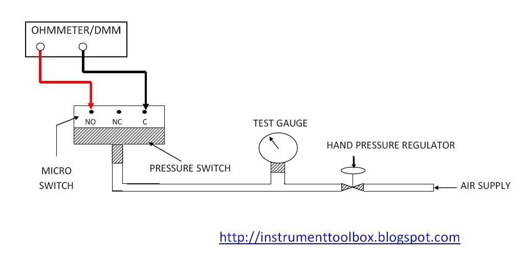 Hook Up Drawing For Pressure Switch