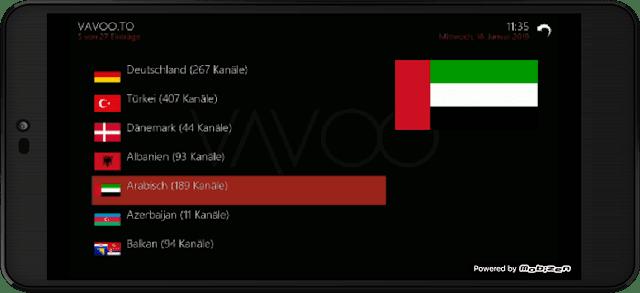 تحميل تطبيق VAVOO TV الاضخم لمشاهدة جميع قنوات العالم و الأفلام على اجهزة الاندرويد مجانا