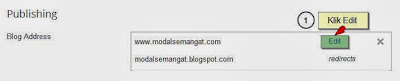 edit costum domain blogger
