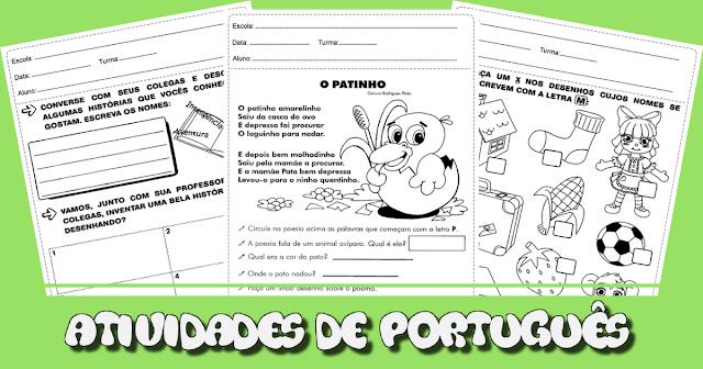 Confira atividades de português prontas para imprimir, indicadas a alunos do segundo ano do Ensino Fundamental.