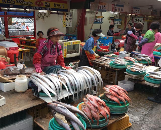 Let's Go To Korea #12 : Jagalchi : le grand marché aux poissons de Busan