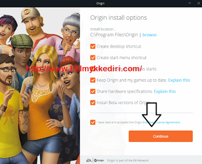 Cara download dan install game origin2