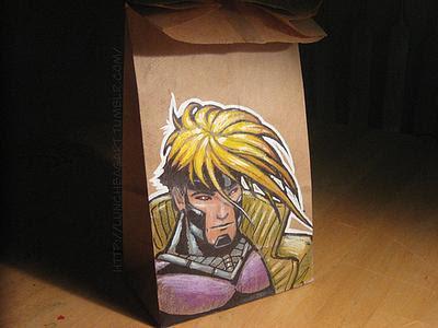 Gambit illustration X-Men