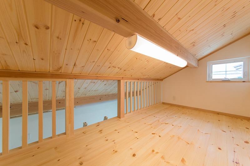 全館空調・平屋の家 みのや ロフト
