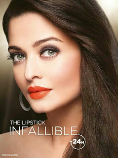 Aishwarya Rai And Her Red Lipstick