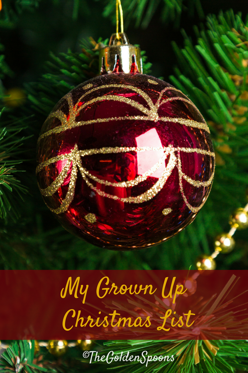 The Golden Spoons: My Christmas Wish List