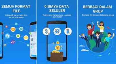 aplikasi share it file transfer android