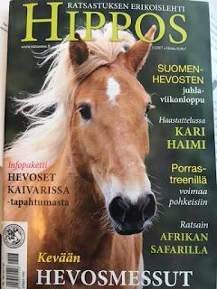 Hippos ,Hippos-lehti, suomen ratsastajainliitto, ratsastusmatkailu, riitta reissaa,