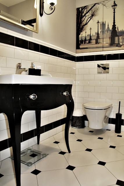szafka łazienkowa czarna