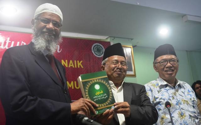 Soal Penolakan Dr Zakir Naik, Ini Komentar Tegas KH Ma'ruf Amin