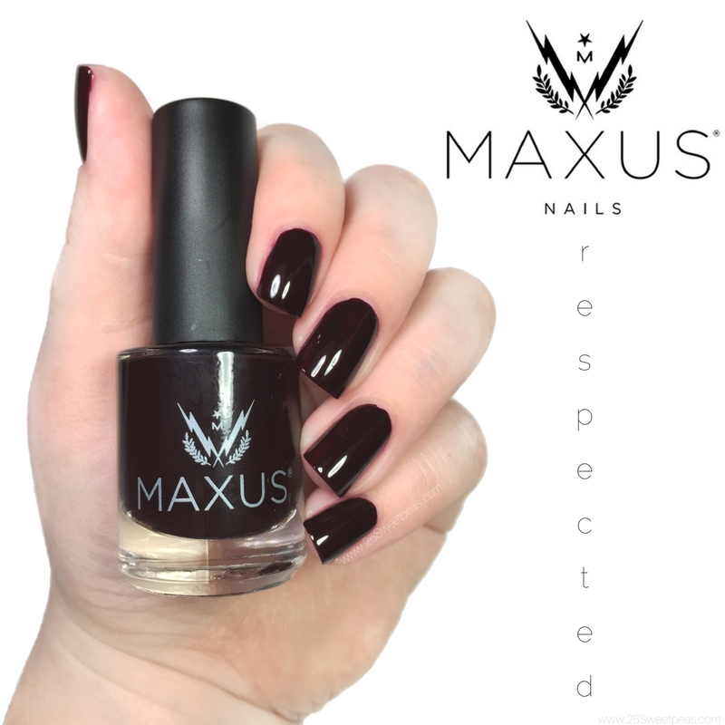 Maxus Nail Polish Respected