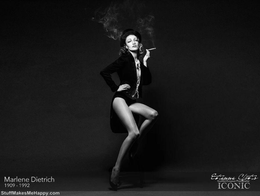 7. Marlene Dietrich