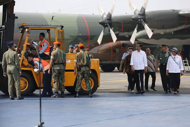 Lagi, Jokowi Melepas 34 Ton Bantuan Kemanusiaan untuk Rohingya