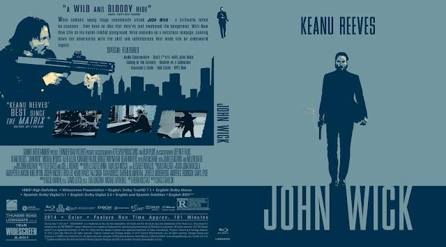 Capa Bluray John Wick