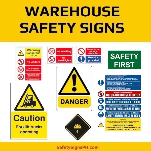 Warehouse Safety Signs Philippines