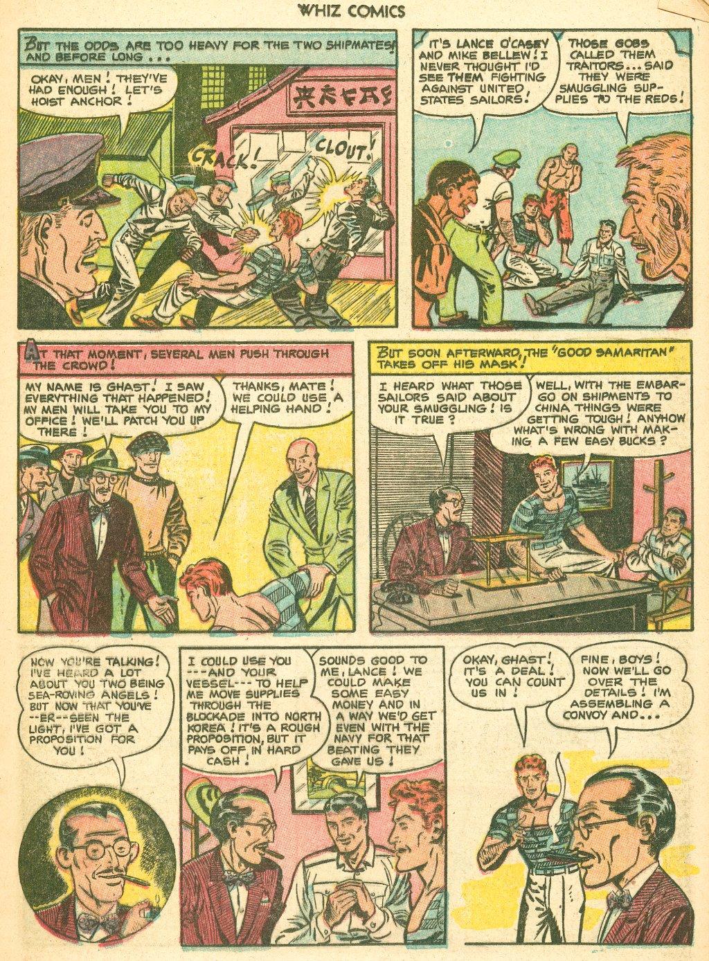 WHIZ Comics #155 #156 - English 17