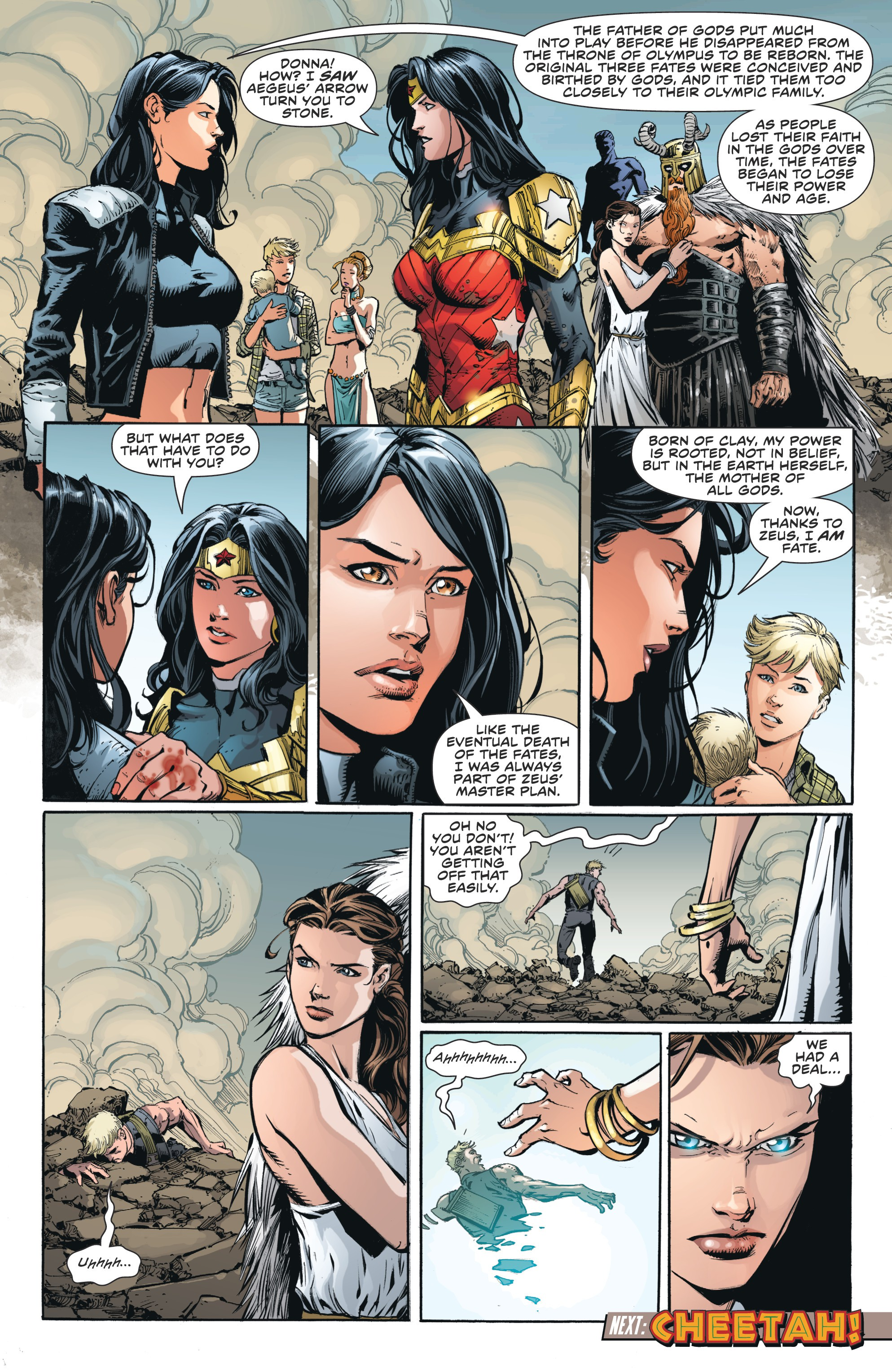 Read online Wonder Woman (2011) comic -  Issue #46 - 24