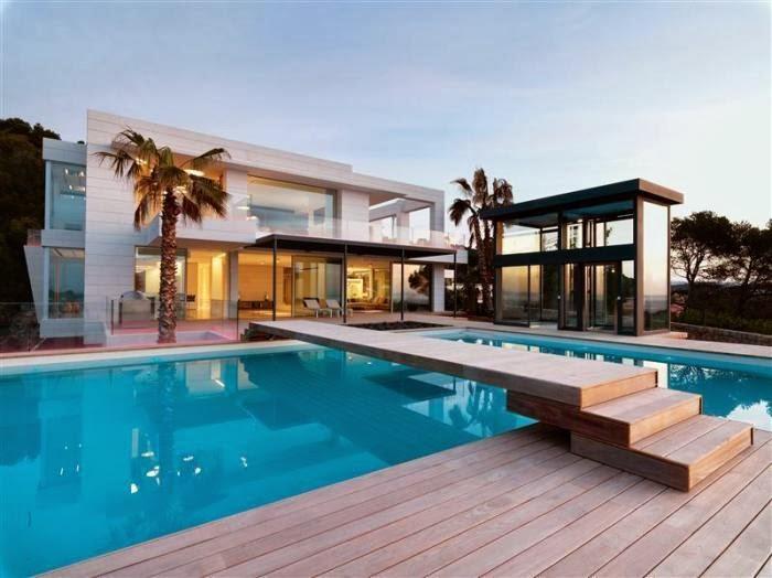 Mansiones y casas de lujo for Las mejores casas minimalistas del mundo