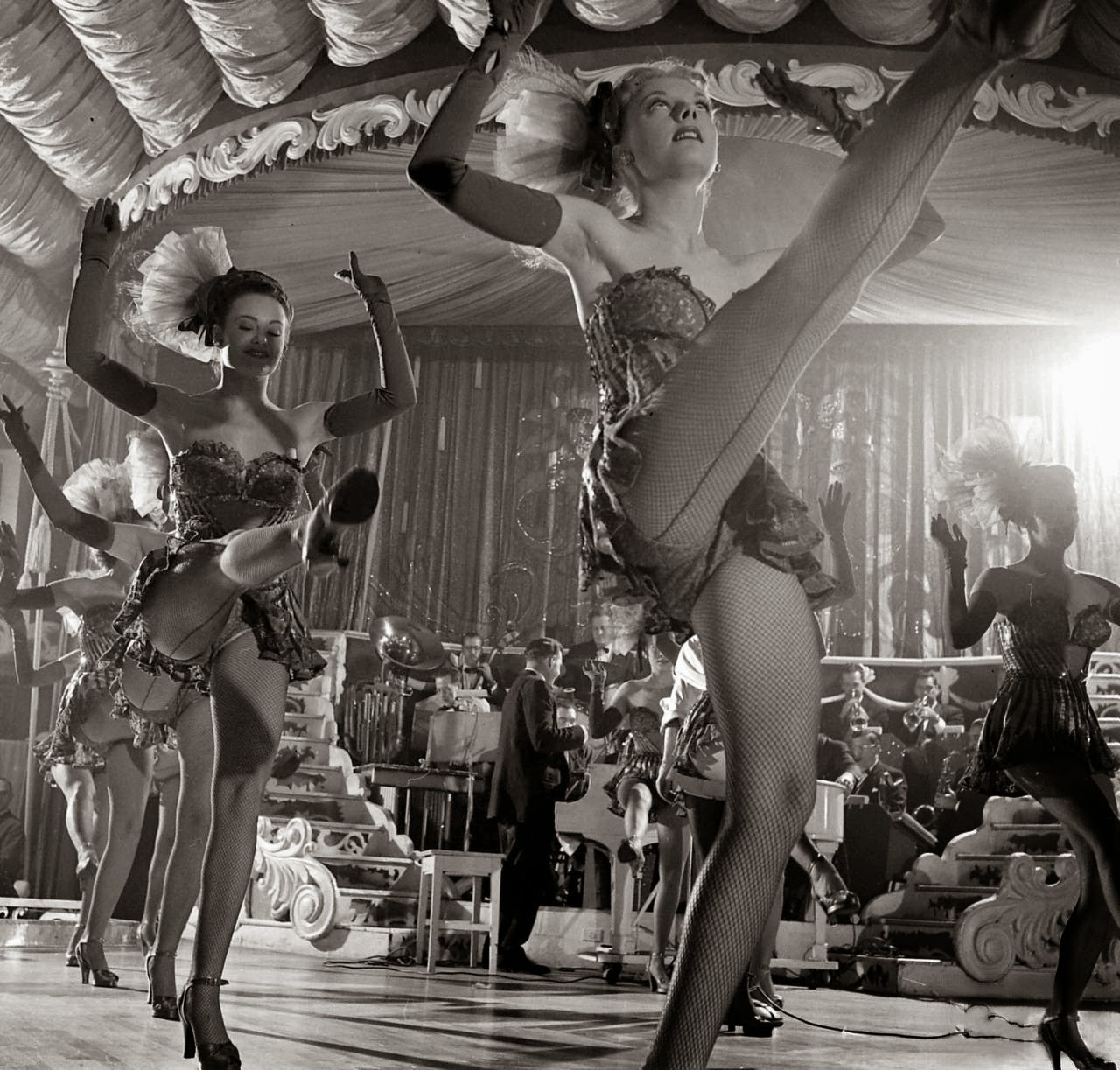 chorus girls at the latin quarter new york 1949