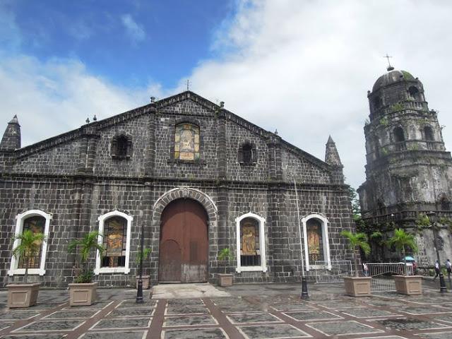 Façade of Tabaco Church