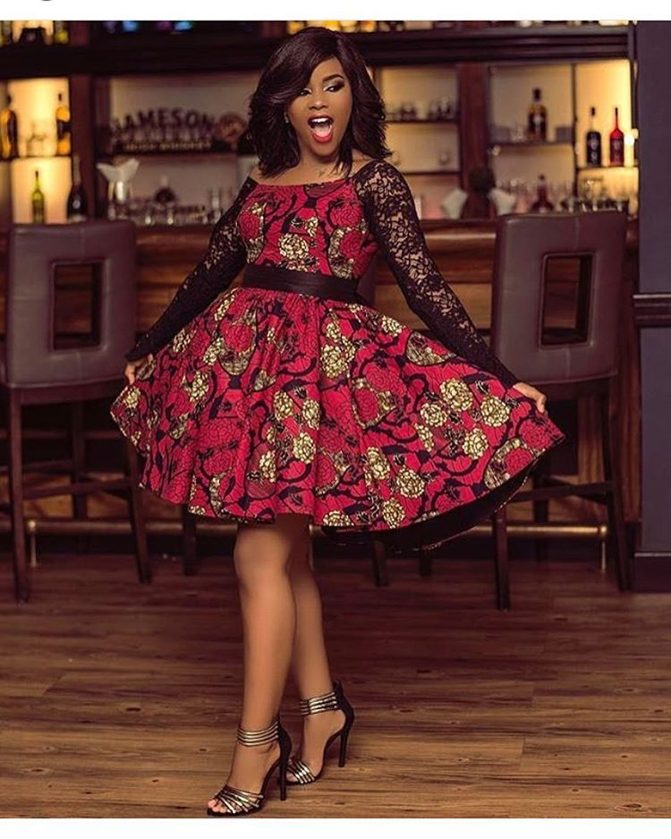 Download Shorter: Ankara Styles: Long And Short Gown Style