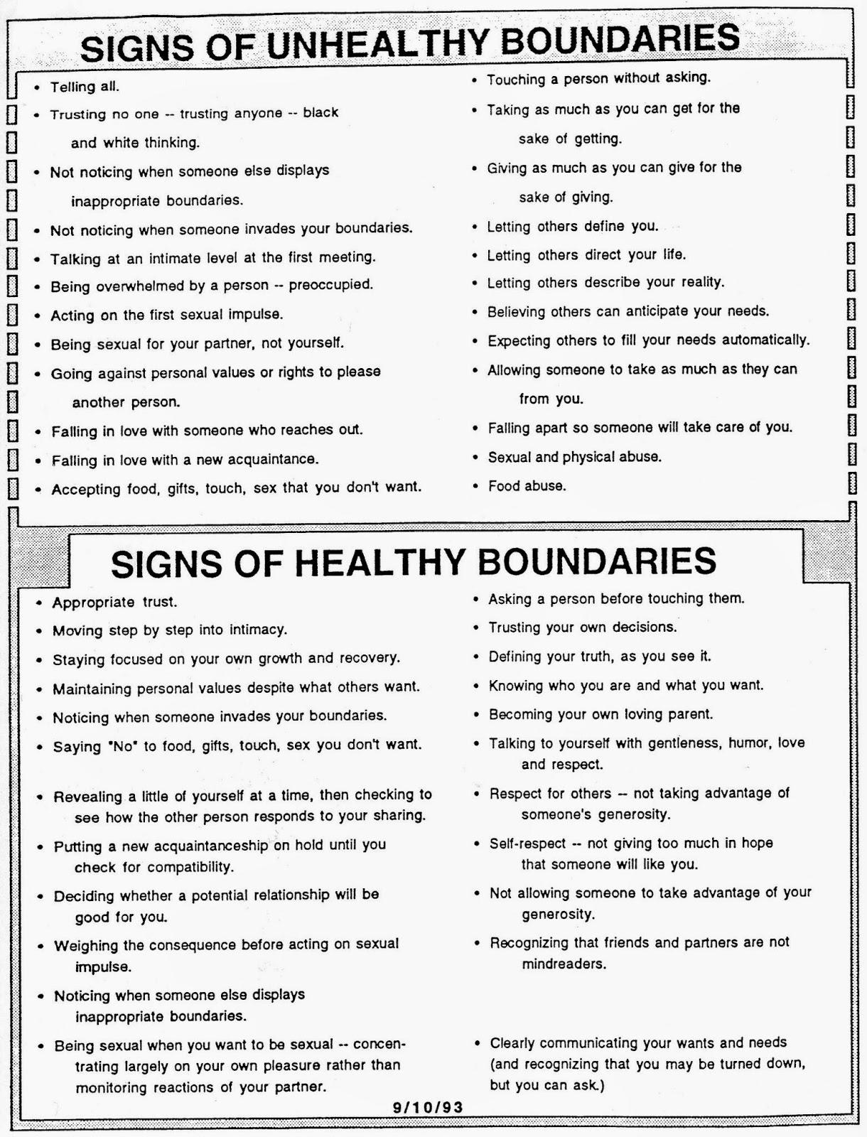 Printables Healthy Boundaries Worksheet healthy boundaries worksheet davezan setting davezan
