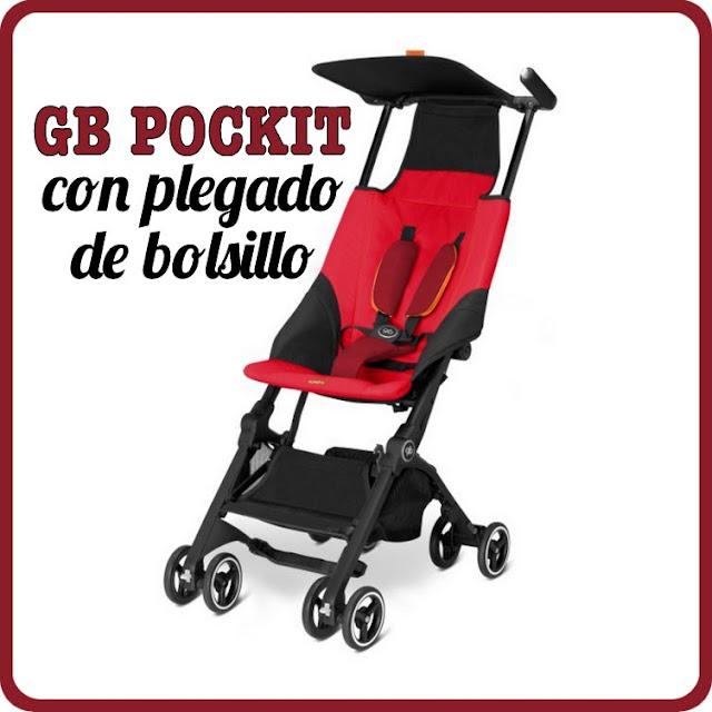 GB POCKIT una silla con plegado de bolsillo