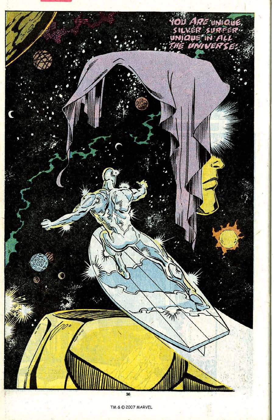 Read online Silver Surfer (1987) comic -  Issue #31 - 38