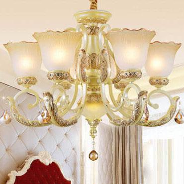 Mê mẫn với những mẫu đèn chùm thủy tinh phòng ngủ thiết kế sang trọng