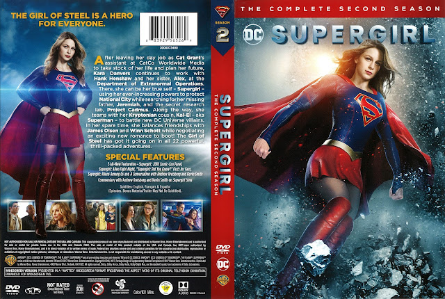 Supergirl Season 2 DVD Cover