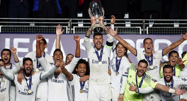 Real Madrid, campeón de la Supercopa de Europa 2016