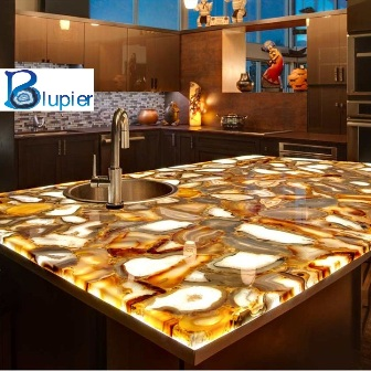 Attractive Gemstone Slabs Counter Tops